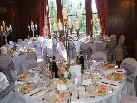 A wedding at Leys Castle