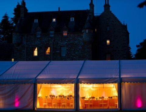 Marquee Wedding Reception in Nairn